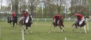 Spass mit Pferden… Tent Pegging (59 sec)