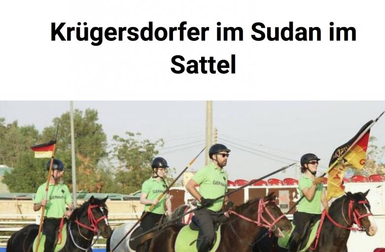 Märkische Oderzeitung zur Weltcup-Quali
